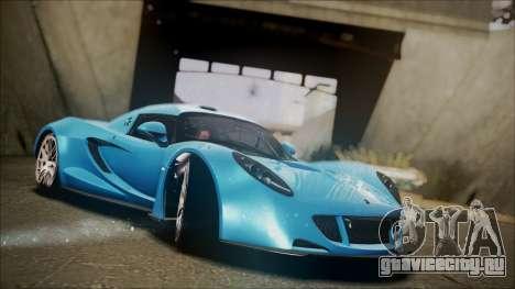 Hennessey Venom GT 2012 U.S.A American для GTA San Andreas