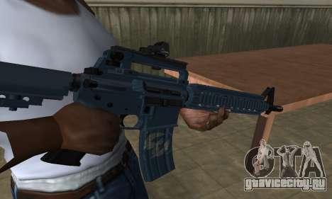 Counter Strike M4 для GTA San Andreas второй скриншот