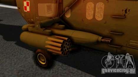 PZL W-3PL Głuszec для GTA San Andreas вид справа