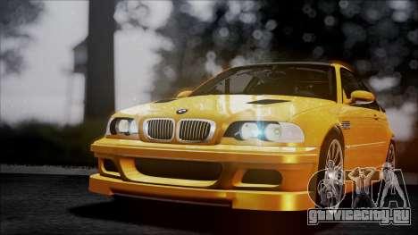 BMW M3 GTR Street Edition для GTA San Andreas салон