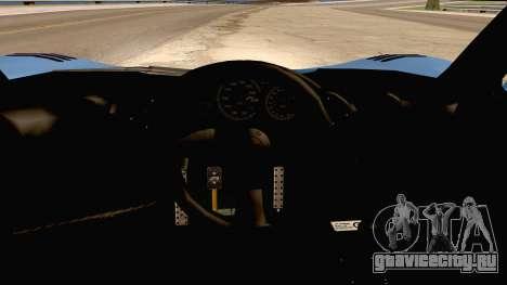 McLaren F1 LM 1995 для GTA San Andreas вид сзади