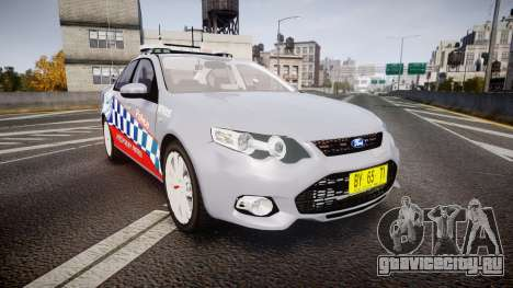 Ford Falcon FG XR6 Turbo Highway Patrol [ELS] для GTA 4