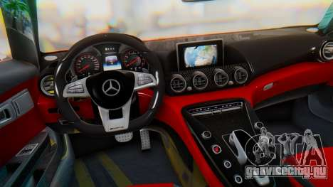 Mercedes-Benz SLS AMG GT для GTA San Andreas вид справа