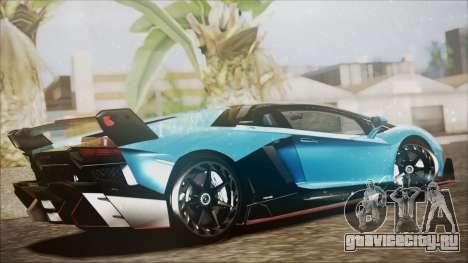 Lamborghini Veneno LP700-4 AVSM для GTA San Andreas вид слева