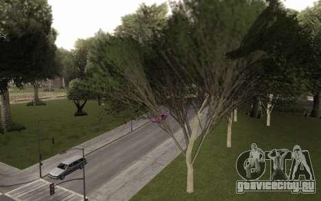 Копия оригинальных деревьев для GTA San Andreas второй скриншот