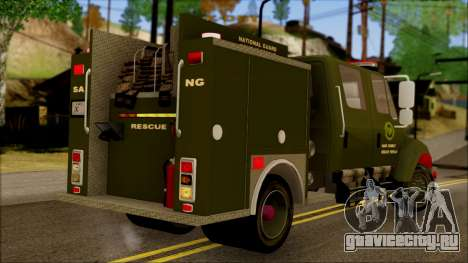 SANG Combat Rescue International для GTA San Andreas вид слева