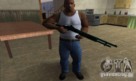 Green Guy Shotgun для GTA San Andreas третий скриншот