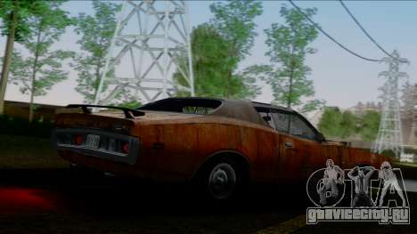 Dodge Charger Super Bee 426 Hemi (WS23) 1971 IVF для GTA San Andreas двигатель