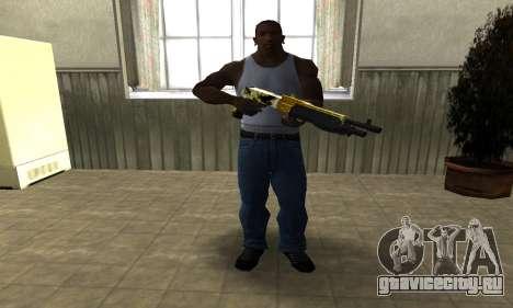 Wonder Combat Shotgun для GTA San Andreas третий скриншот