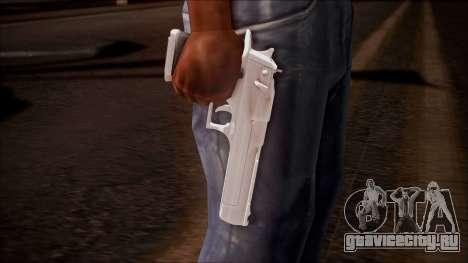 Desert Eagle from Battlefield Hardline для GTA San Andreas третий скриншот