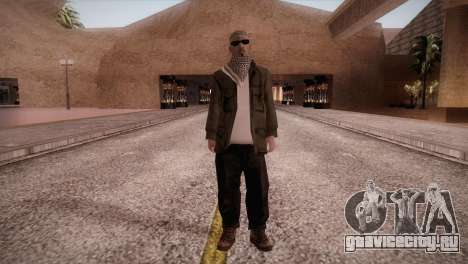 Террорист для GTA San Andreas второй скриншот