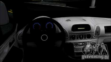 Opel Vivaro Policija для GTA San Andreas вид сзади слева