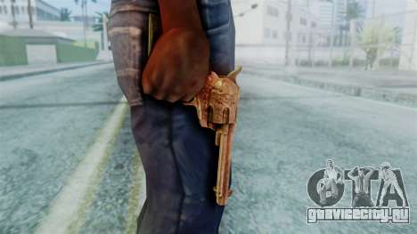 Red Dead Redemption Revolver Diego Nueva для GTA San Andreas третий скриншот