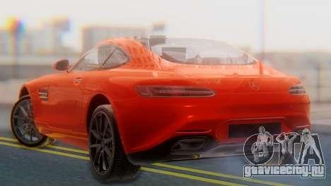 Mercedes-Benz SLS AMG GT для GTA San Andreas вид слева