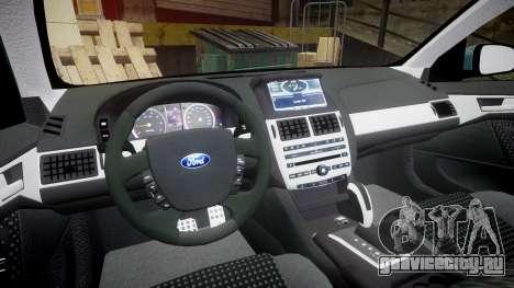 Ford Falcon FG XR6 Turbo для GTA 4 вид сзади