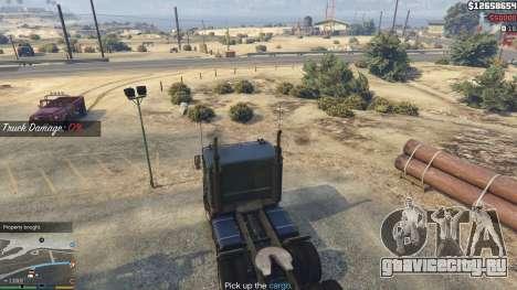 Trucking Missions 1.5 для GTA 5