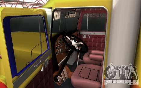 ShockWave Jet Truck для GTA San Andreas вид сзади слева