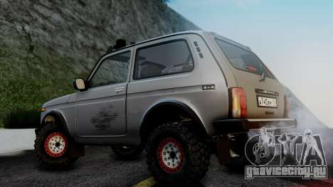ВАЗ 2121 Нива 4x4 для GTA San Andreas вид сзади слева