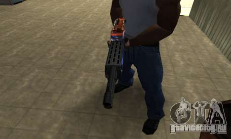 Fish Power Combat Shotgun для GTA San Andreas второй скриншот
