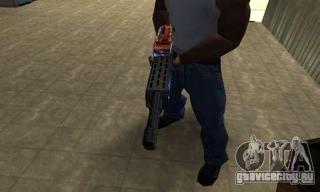 Fish Power Combat Shotgun для GTA San Andreas второй скриншот