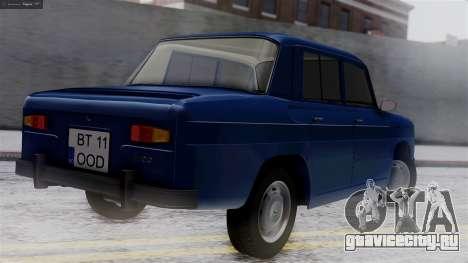 Dacia 1100 для GTA San Andreas вид слева