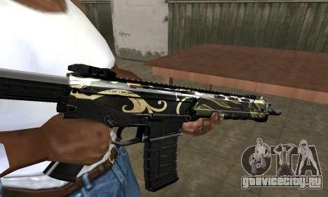 Kaymay M4 для GTA San Andreas второй скриншот