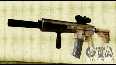 HK416 SOPMOD для GTA San Andreas