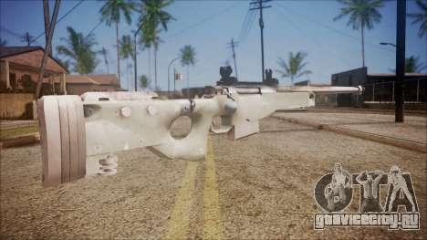 L96 from Battlefield Hardline для GTA San Andreas второй скриншот
