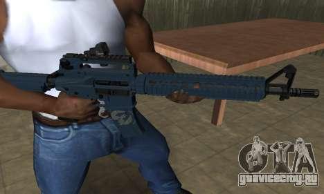 Counter Strike M4 для GTA San Andreas