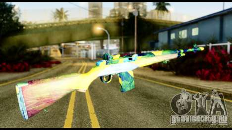 Brasileiro Rifle для GTA San Andreas второй скриншот