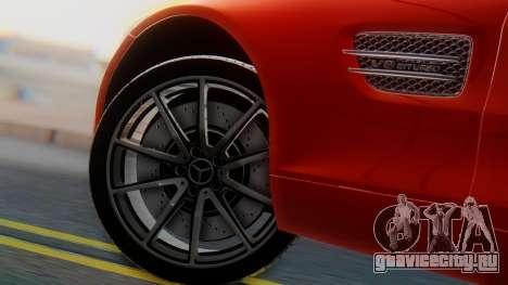 Mercedes-Benz SLS AMG GT для GTA San Andreas вид сзади слева
