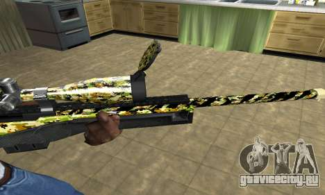 Cub Sniper Rifle для GTA San Andreas второй скриншот