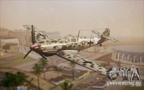 Messerschmitt BF-109 E3 для GTA San Andreas