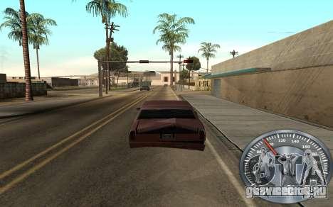 Железный спидометр для GTA San Andreas