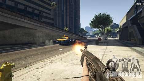 Gears of War Lancer 1.0.0 для GTA 5 второй скриншот