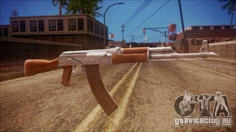 AK-47 v6 from Battlefield Hardline для GTA San Andreas