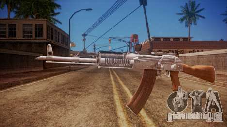 AK-47 v4 from Battlefield Hardline для GTA San Andreas