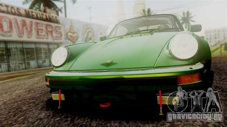 Porsche 911 Turbo (930) 1985 Kit A PJ для GTA San Andreas вид сверху
