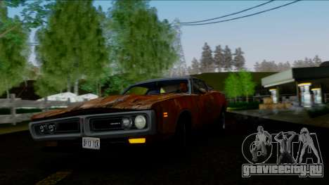 Dodge Charger Super Bee 426 Hemi (WS23) 1971 IVF для GTA San Andreas салон