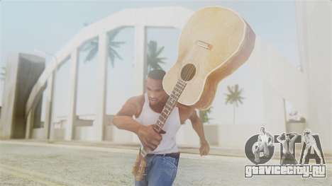 Red Dead Redemption Guitar для GTA San Andreas третий скриншот