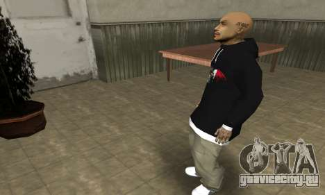 Rifa Skin First для GTA San Andreas четвёртый скриншот