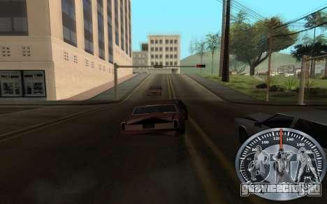 Железный спидометр для GTA San Andreas четвёртый скриншот