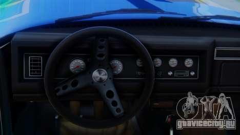 Invetero Coquette BlackFin v2 SA Plate для GTA San Andreas вид справа