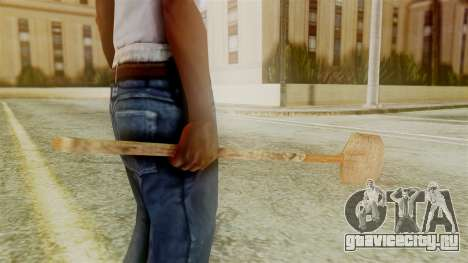 Red Dead Redemption Shovel для GTA San Andreas второй скриншот