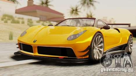 Pegassi Osyra Full Extras для GTA San Andreas