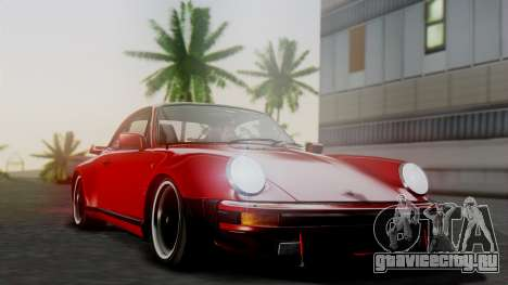 Porsche 911 Turbo (930) 1985 Kit A для GTA San Andreas вид сверху