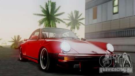Porsche 911 Turbo (930) 1985 Kit A для GTA San Andreas вид сверху