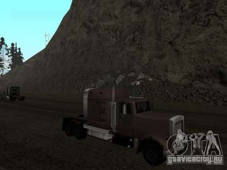 Звуковой сигнал при заднем ходе для GTA San Andreas