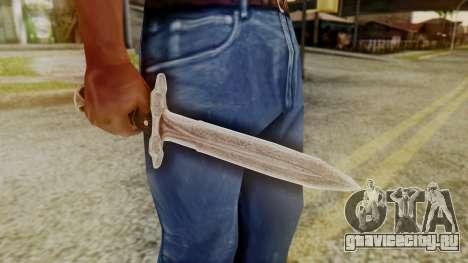 Iron Dagger для GTA San Andreas второй скриншот