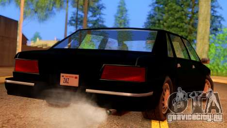 FBI Undercover Unmarked Premier для GTA San Andreas вид слева